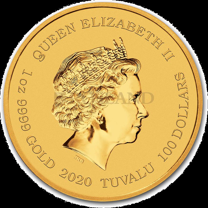 1/4 Unze Goldmünze 007 James Bond 2020 PP (Box, Zertifikat)