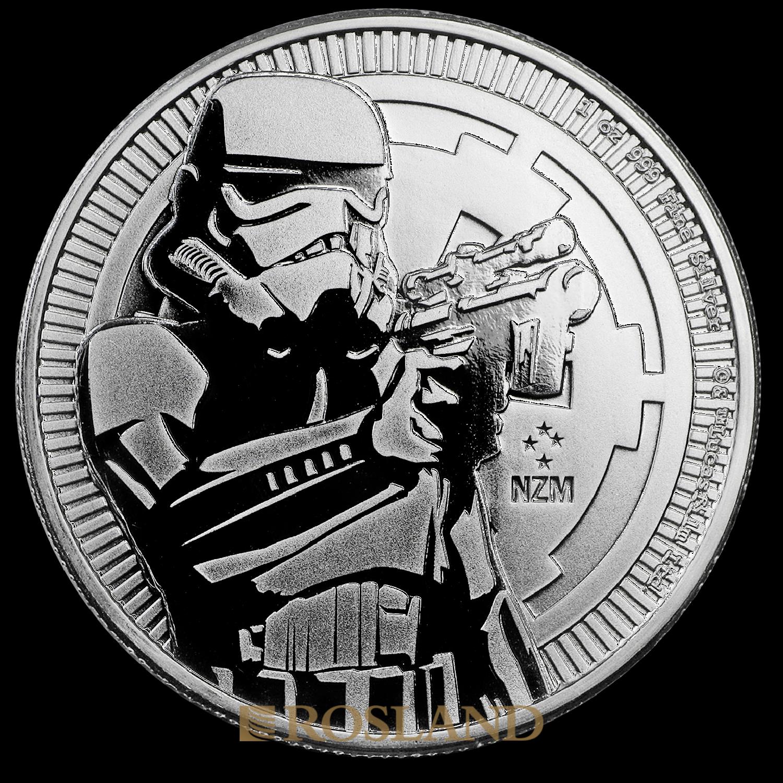 1 Unze Silbermünze Star Wars™ Stormtrooper 2018