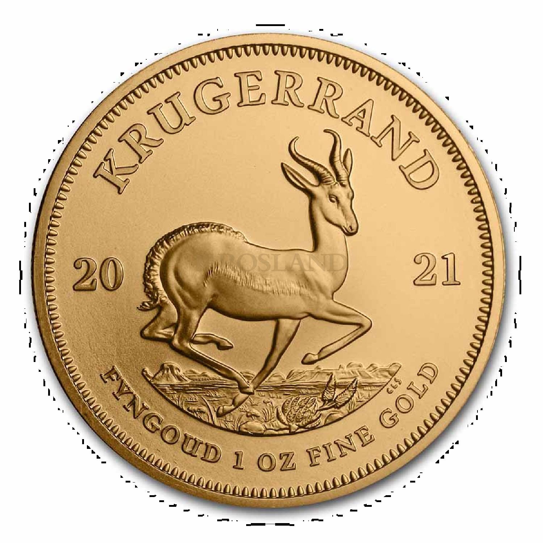 1 Unze Goldmünze Krügerrand 2021