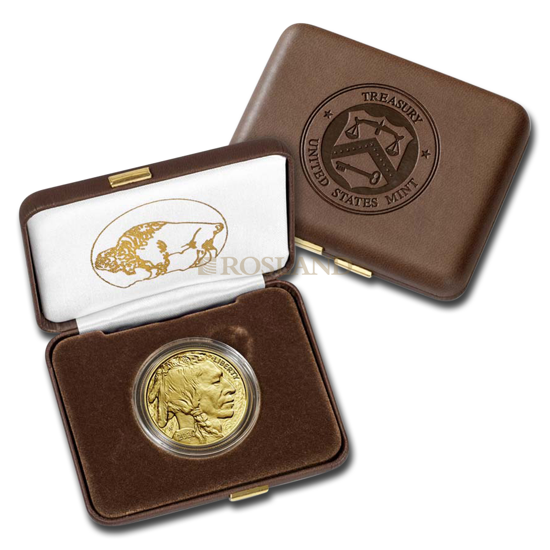 1 Unze Goldmünze American Buffalo 2020 PP (Box, Zertifikat)