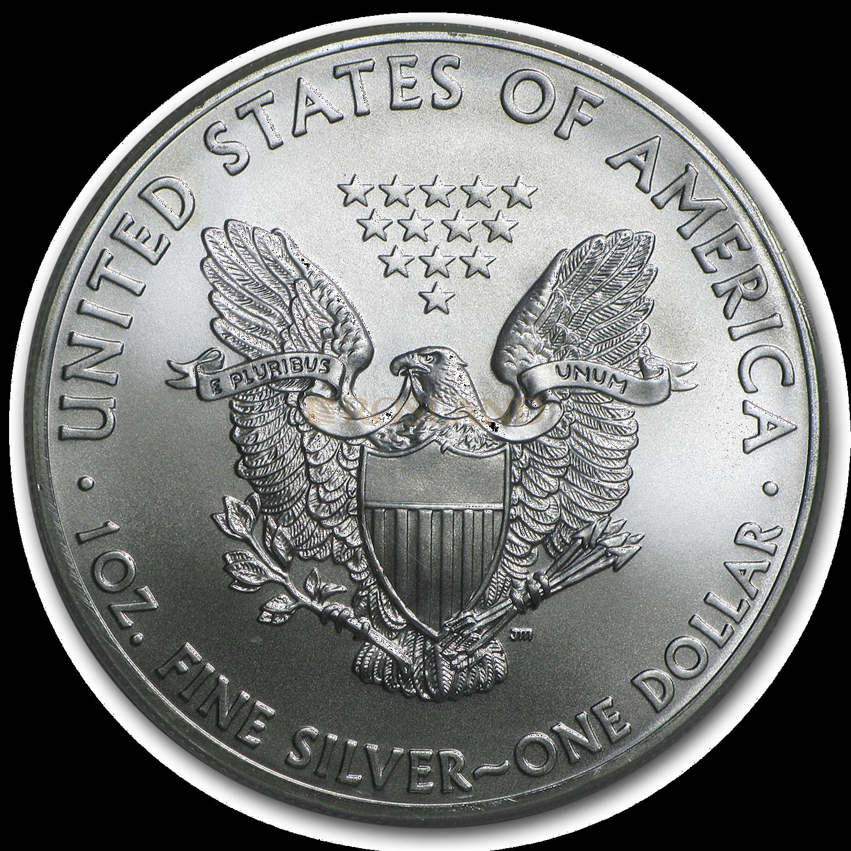 1 Unze Silbermünze American Eagle 2015 PCGS MS-69