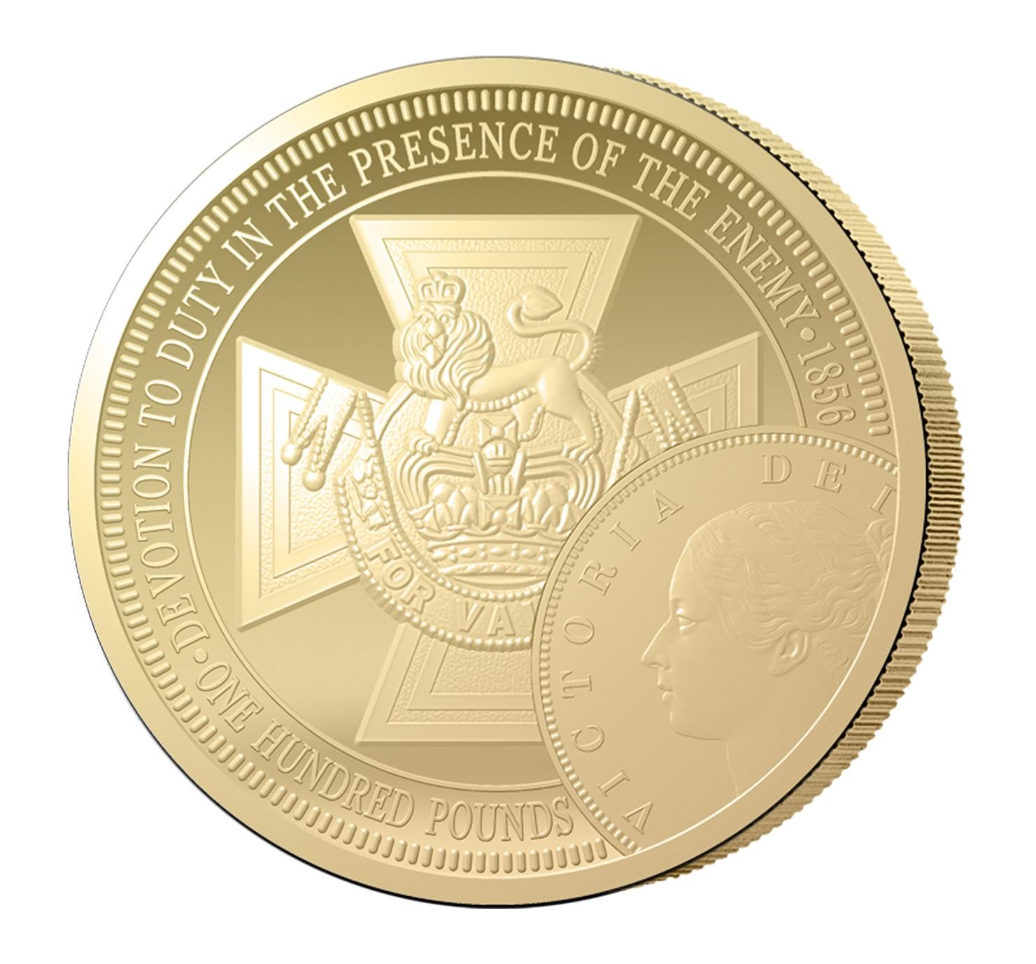1 Sovereign Goldmünze Das Victoria Kreuz 2016