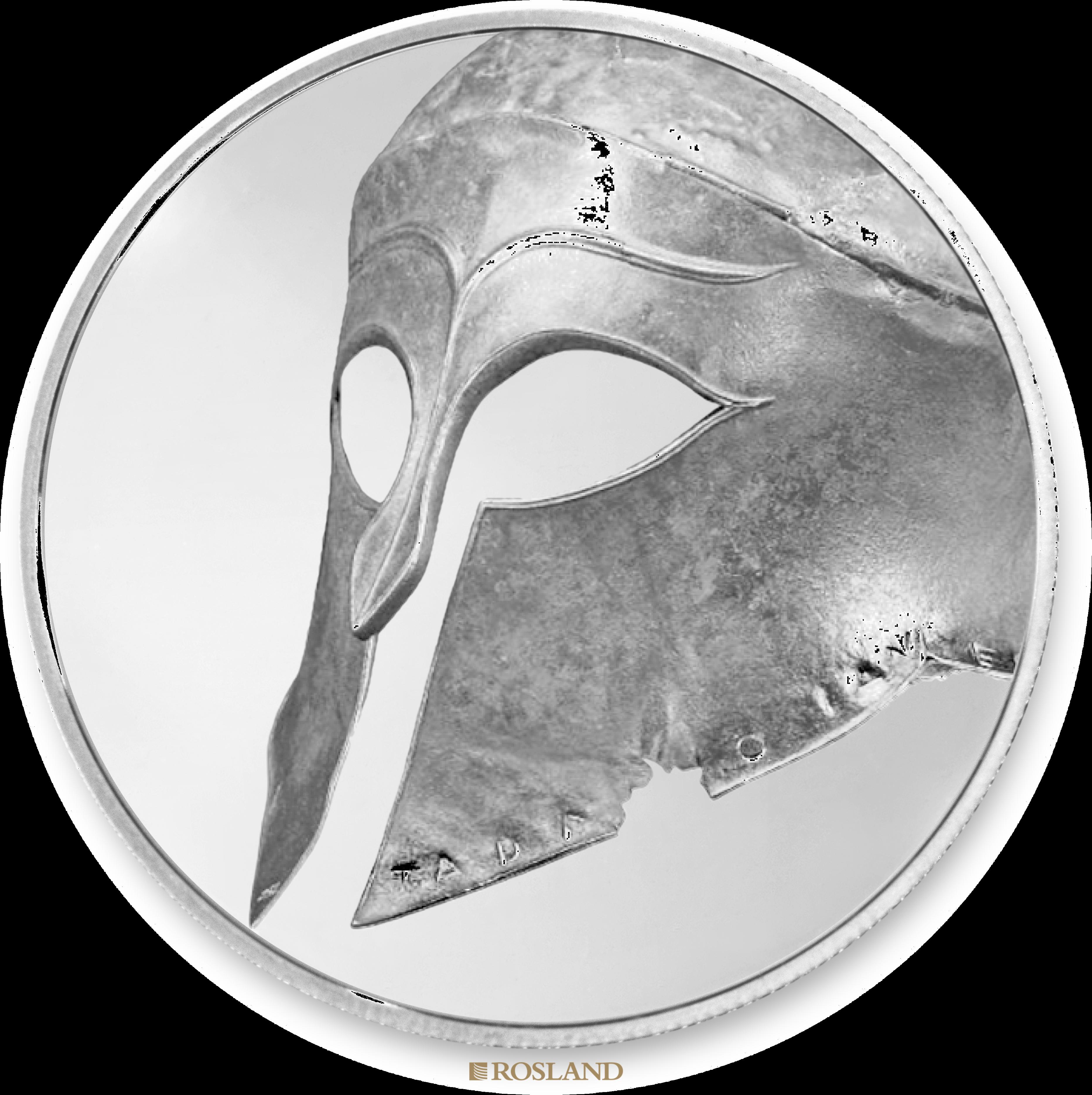 3 Unzen 2 Münzen PAMP Britisches Museum Gladiator Set 2018 PP