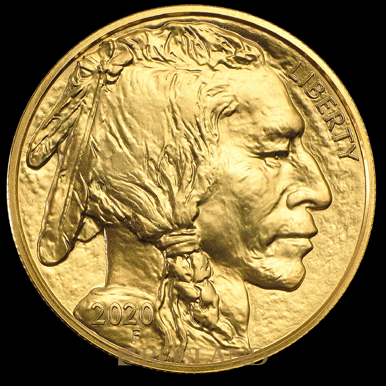1 Unze Goldmünze American Buffalo 2020