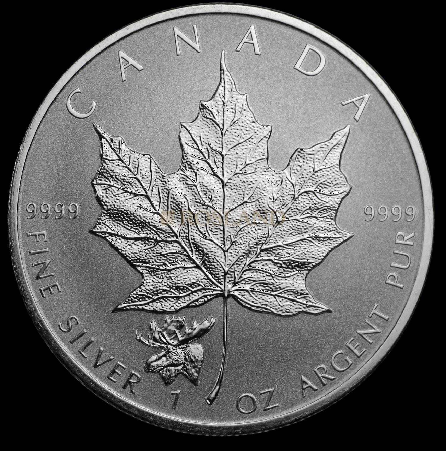 1 Unze Silbermünze Kanada Maple Leaf Elch 2017 PP (Reverse Proof)