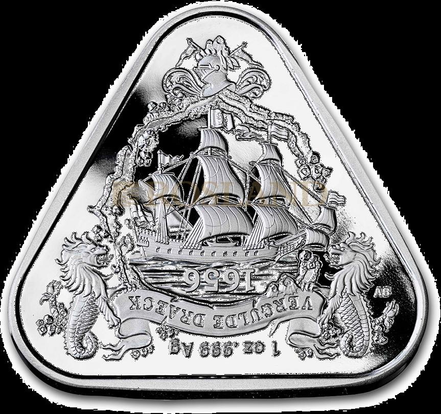 1 Unze Silbermünze RAM Gilt Dragon Schiffswrack 2020