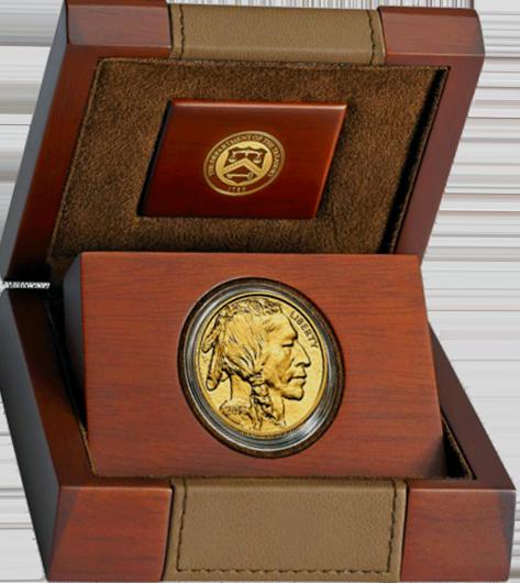 1 Unze Gold American Buffalo 2015 PP (Box, Zertifikat)
