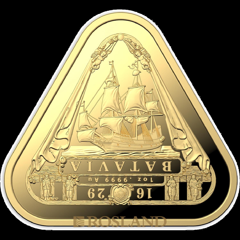 1 Unze Goldmünze Batavia Dreieck Schiffswrack 2019