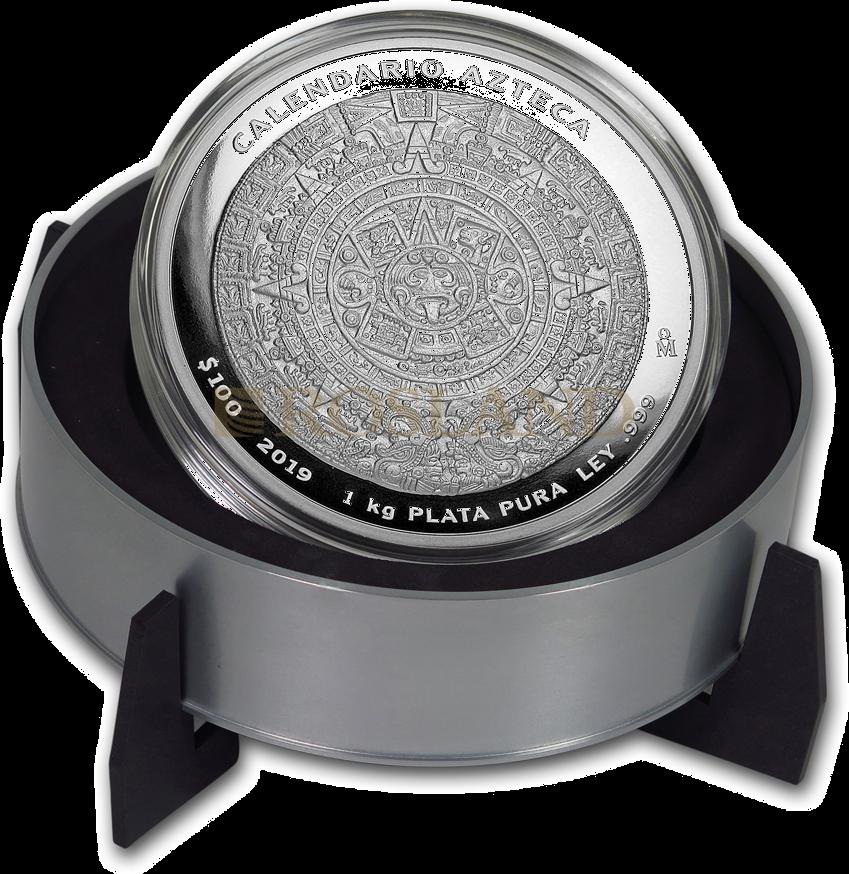 1 Kilogramm Azteken-Kalender 2019 (Box, Zertifikat)