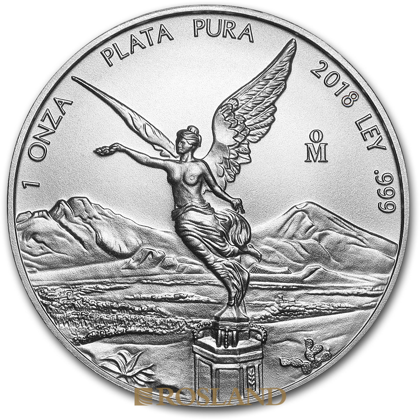 1 Unze Silbermünze Mexican Libertad 2018