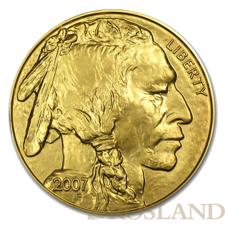 1 Unze Goldmünze American Buffalo 2007
