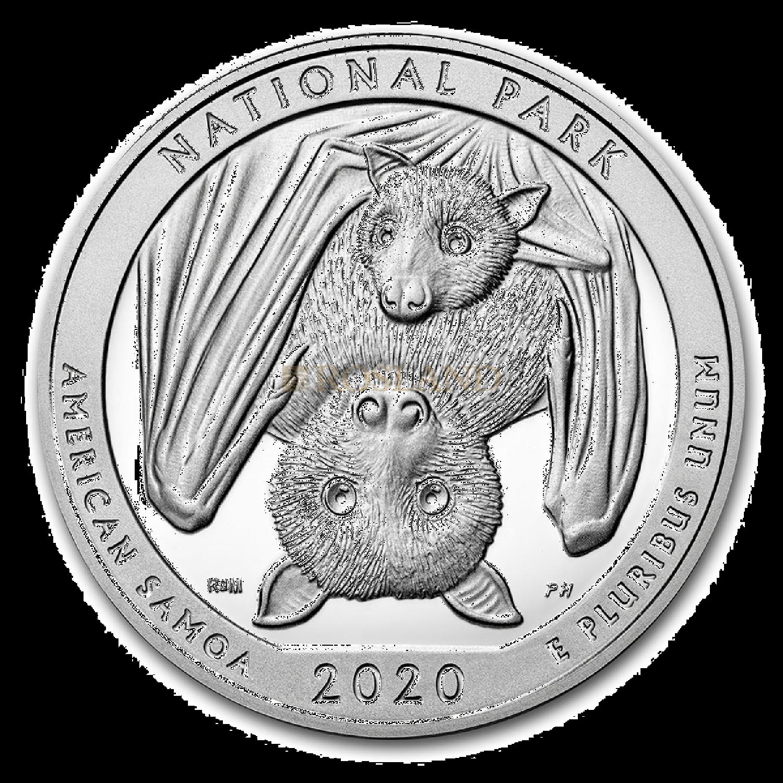 5 Unzen Silbermünze ATB National Park of American 2020