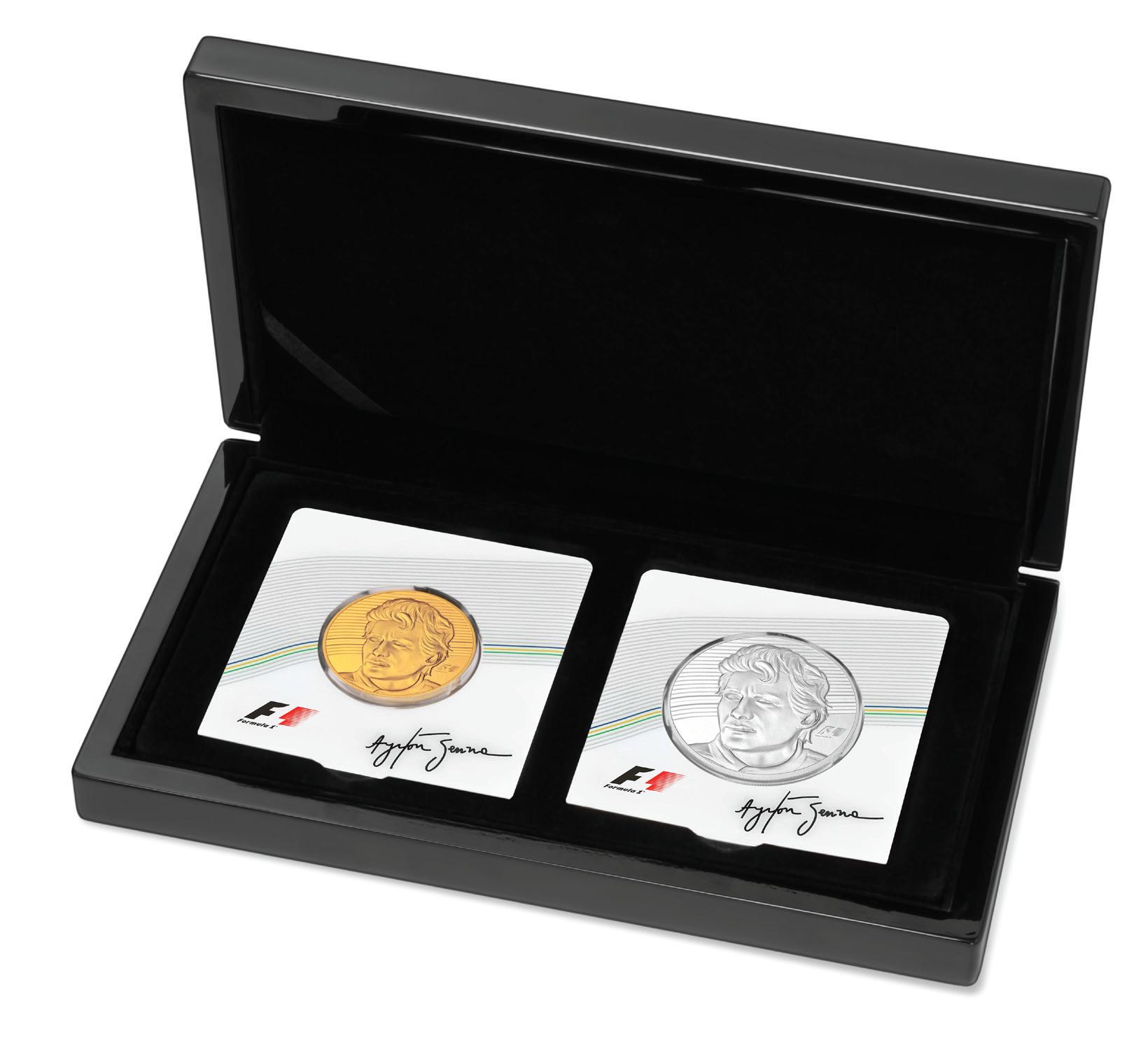 5 Unzen Ayrton Senna Formel 1® Collection 2017 PP (Box, Zertifikat)