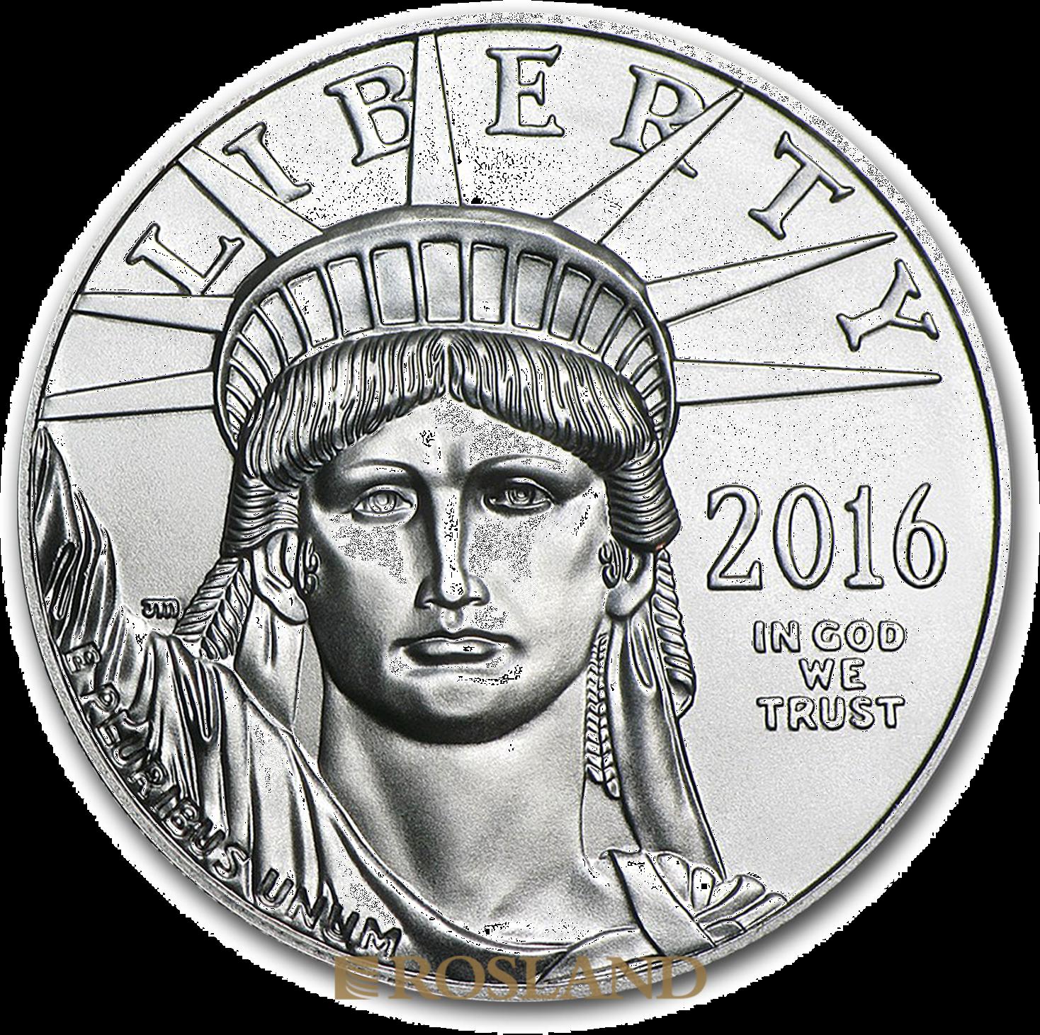 1 Unze Platinmünze American Eagle 2016