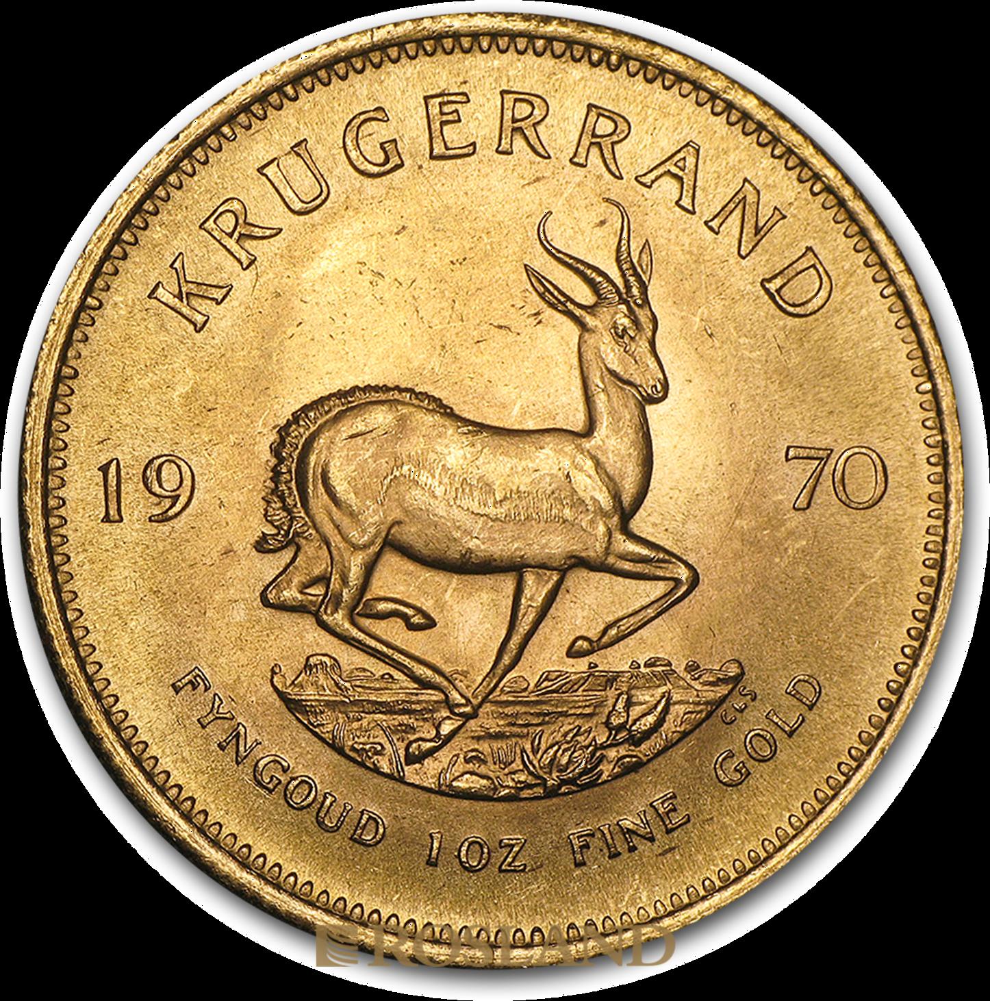 1 Unze Goldmünze Krügerrand 1970