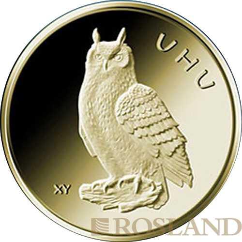20 Euro Goldmünze Heimische Vögel - Uhu 2018 München (D)