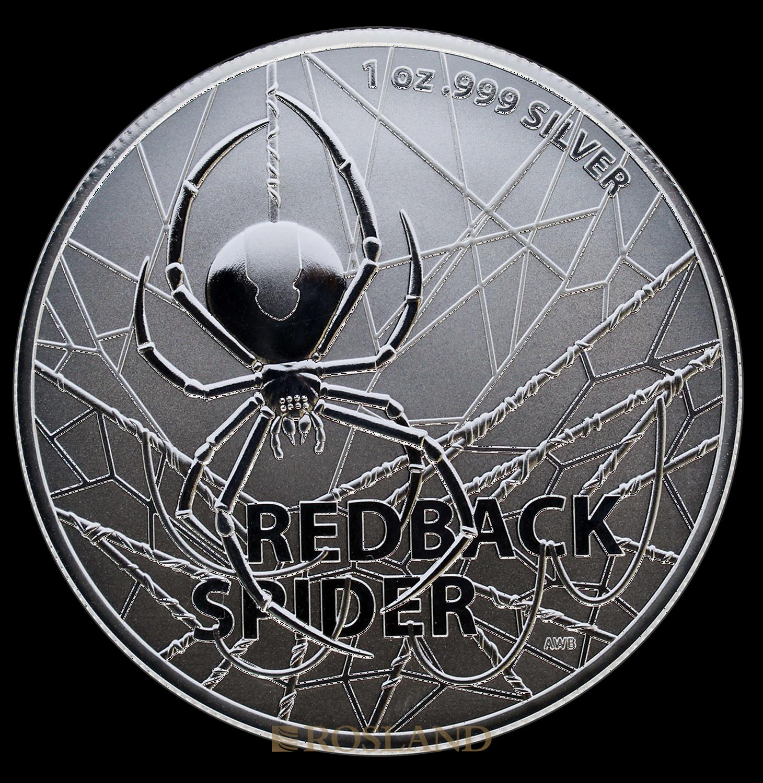 1 Unze Silbermünze RAM Redback Spider 2020