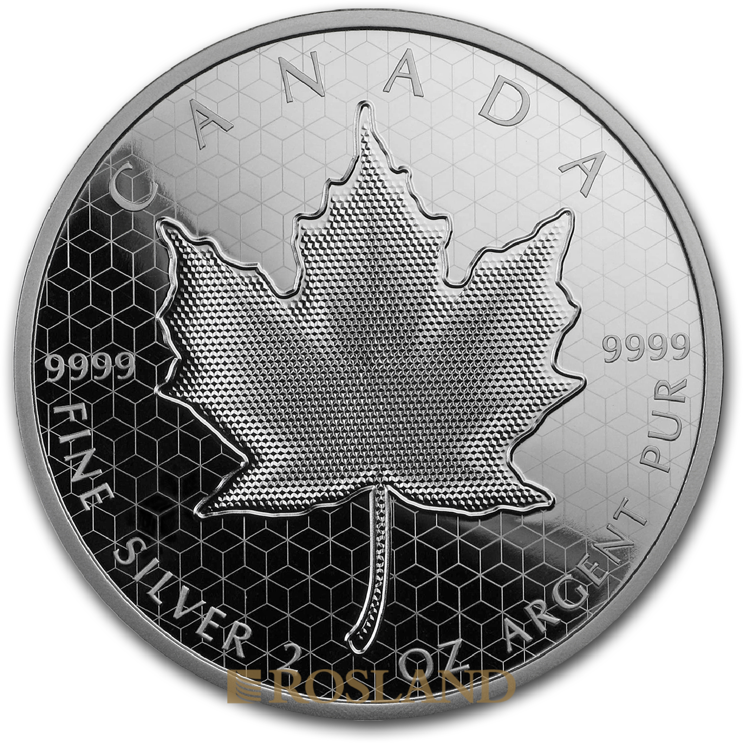 2 Unzen Silbermünze Kanada Maple Leaf Pulsating 2020 (Box, Zertifikat)