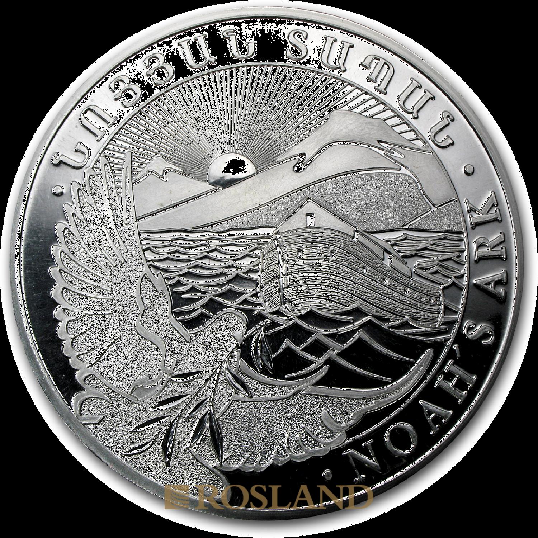 1 Kilogramm Silbermünze Armenien Arche Noah 2012