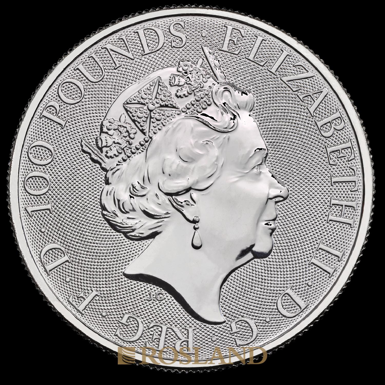 1 Unze Platinmünze Britannia 2020