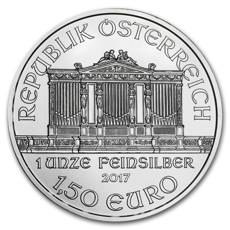 1 Unze Silbermünze Wiener Philharmoniker 2017