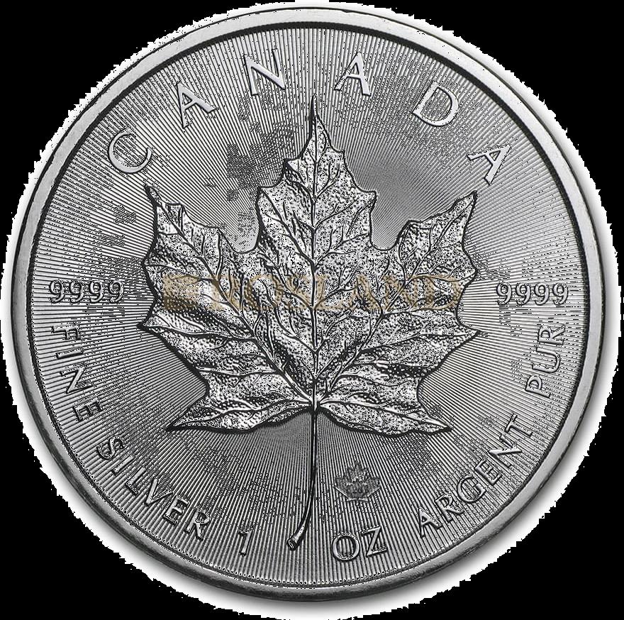 1 Unze Silbermünze Kanada Maple Leaf 2020
