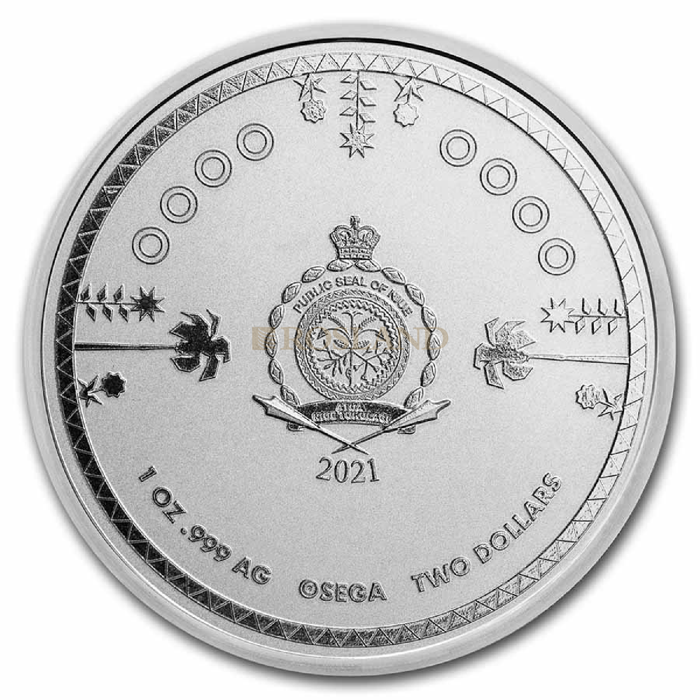 1 Unze Silbermünze 9Fine Sonic Hedgehog 2021
