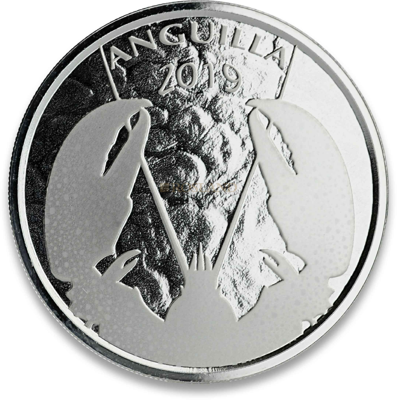 1 Unze Silbermünze EC8 Anguilla Lobster 2019