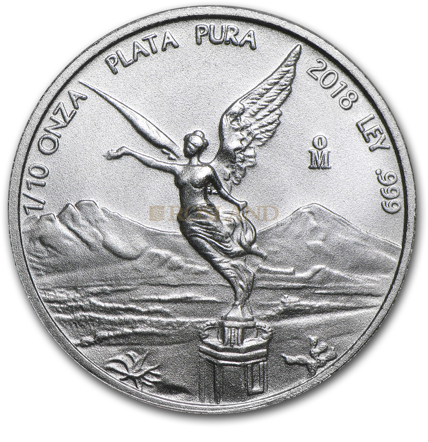 1/10 Unze Silbermünze Mexican Libertad 2018