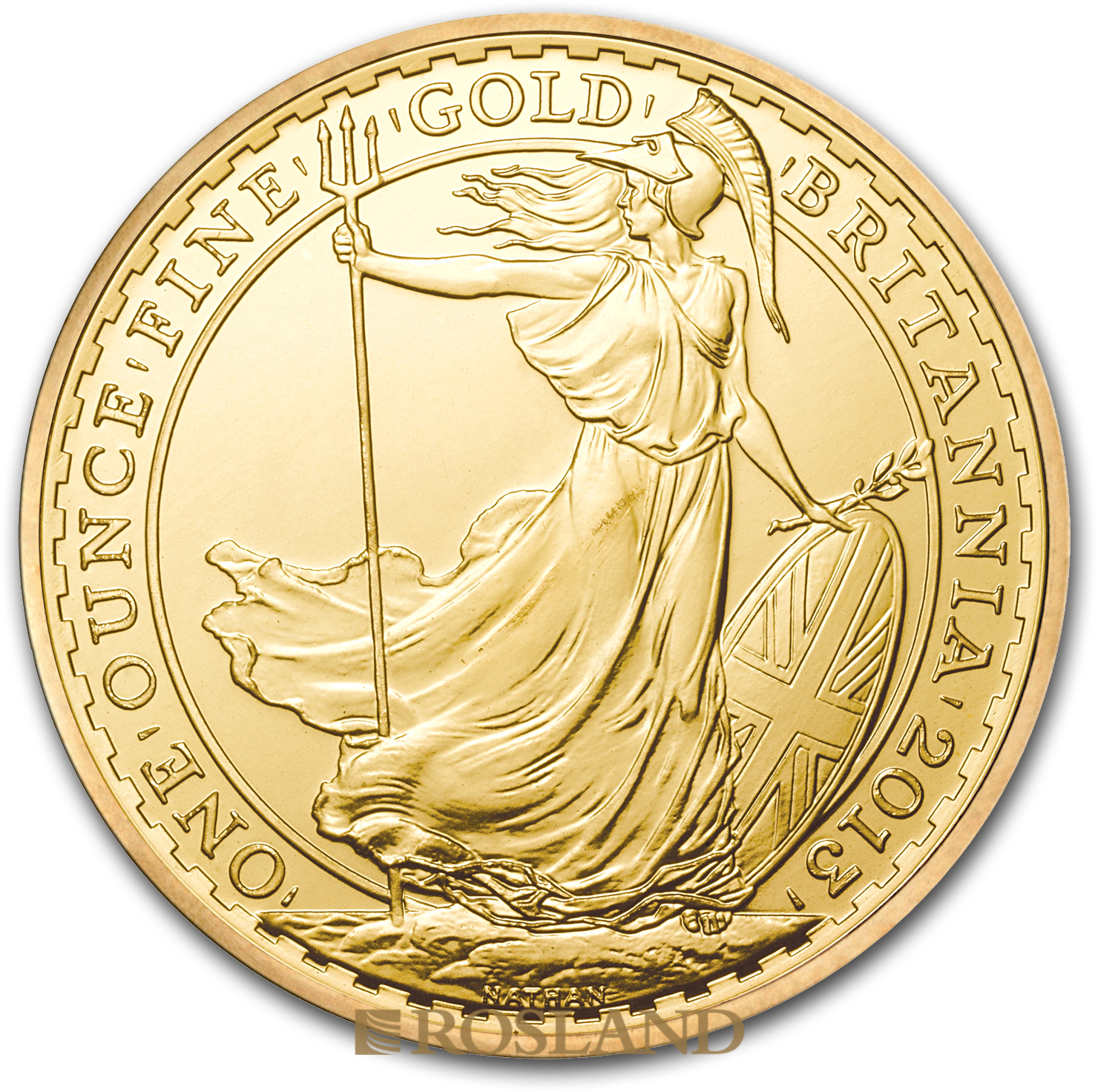 1 Unze Goldmünze Britannia 2013