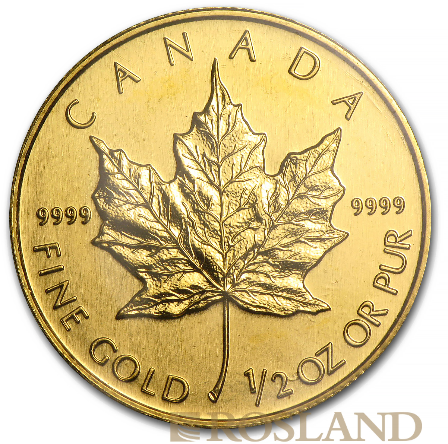 1/2 Unze Goldmünze Kanada Maple Leaf 2003