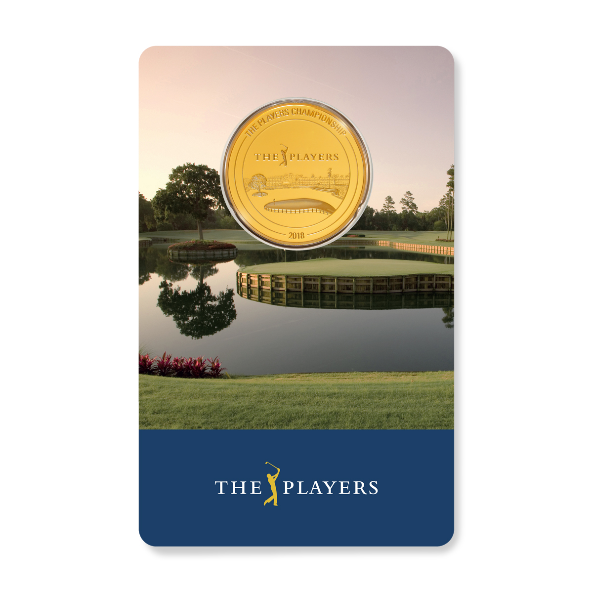 1/4 Unze Goldmünze PGA TOUR® THE PLAYERS Championship 2018 PP (Box, Zertifikat)