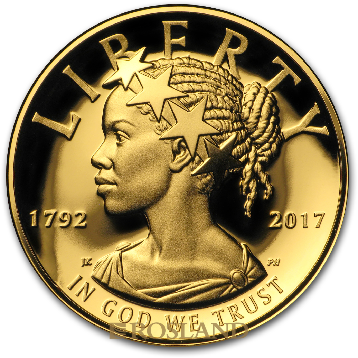 1 Unze Goldmünze American Liberty 2017 PL (HR, Box, Zertifikat)