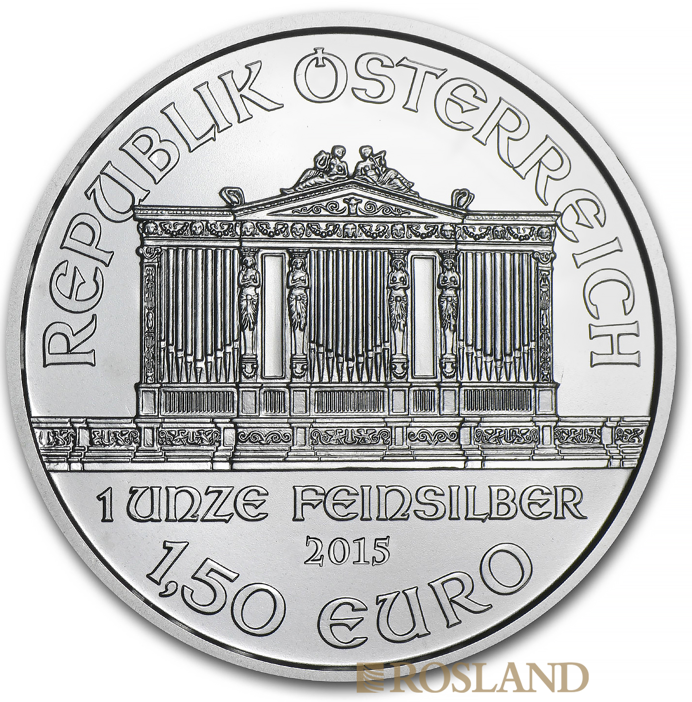 1 Unze Silbermünze Wiener Philharmoniker 2015