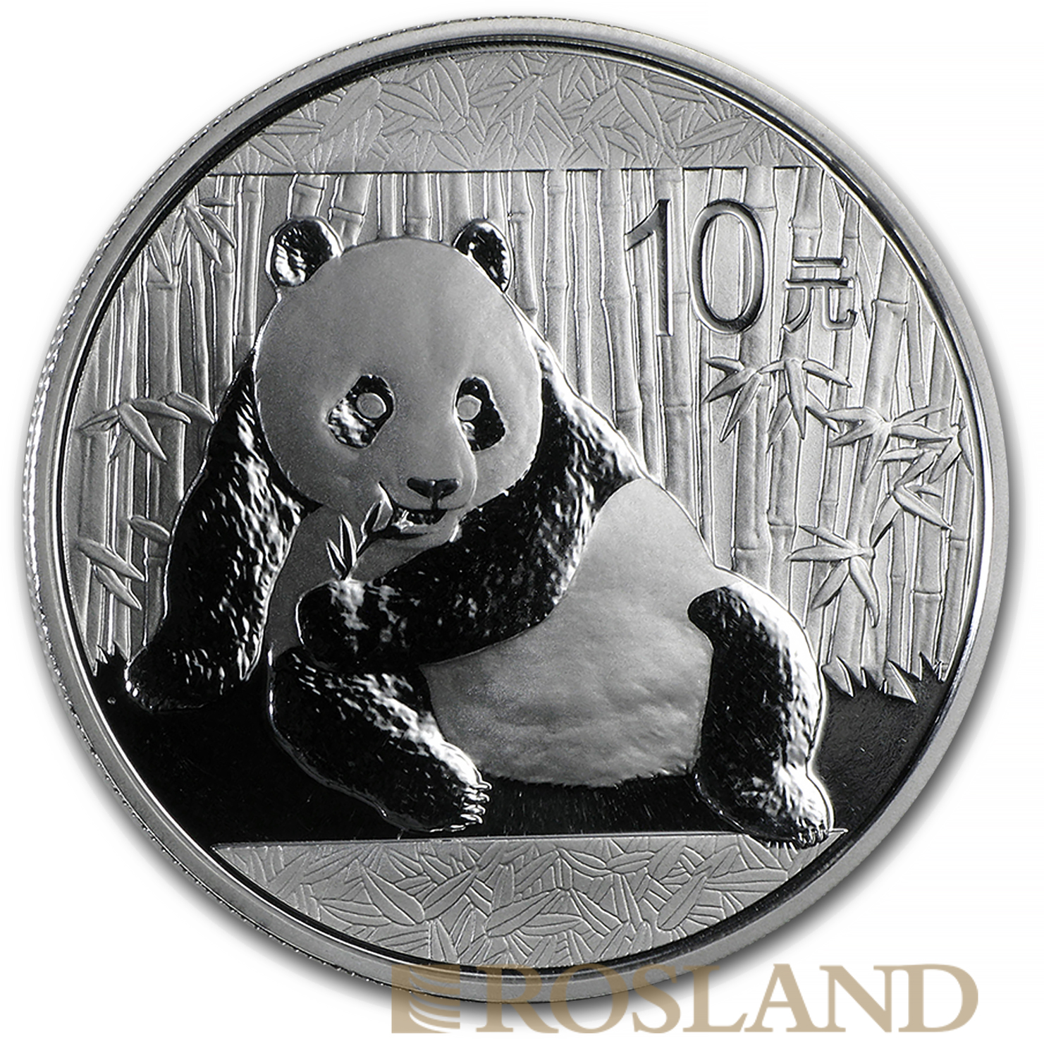 1 Unze Silbermünze China Panda 2015