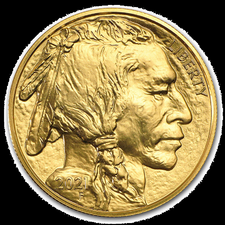 1 Unze Goldmünze American Buffalo 2021