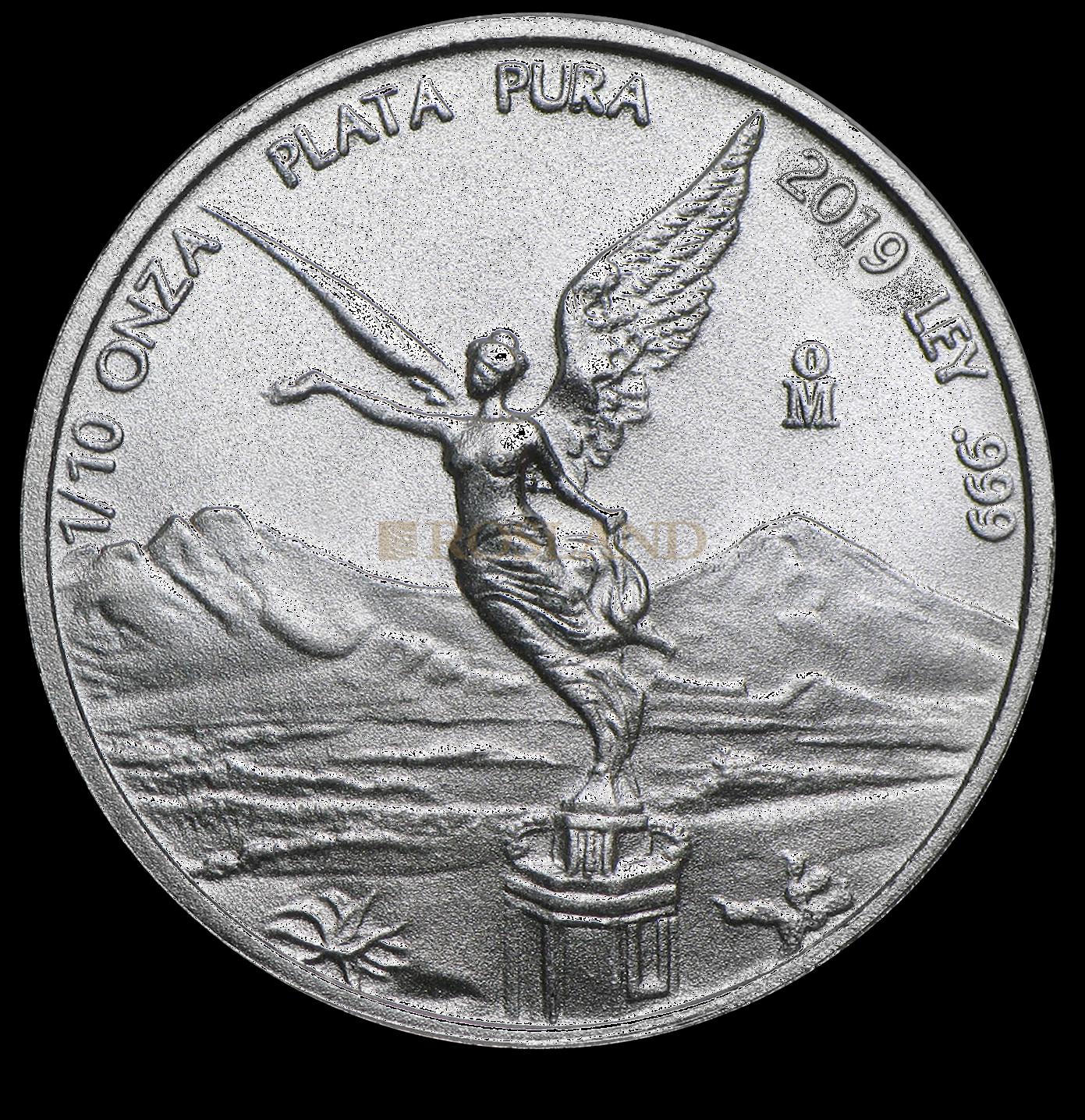 1/10 Unze Silbermünze Mexican Libertad 2019