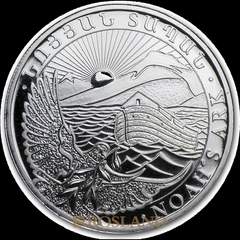 1/2 Unze Silbermünze Armenien Arche Noah 2014