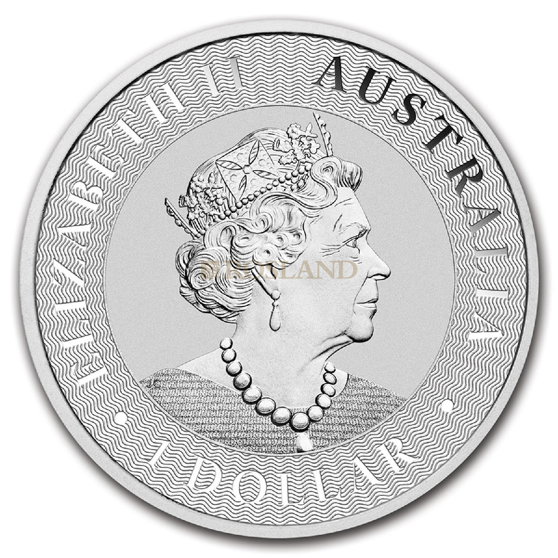 1 Unze Silbermünze Känguru 2021