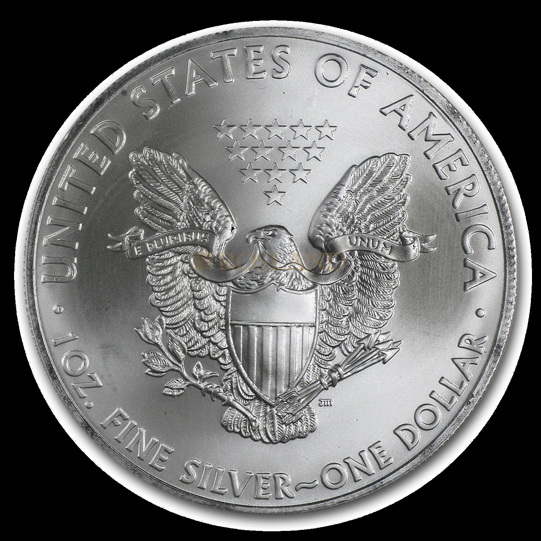 1 Unze Silbermünze American Eagle 2014 PCGS MS-69