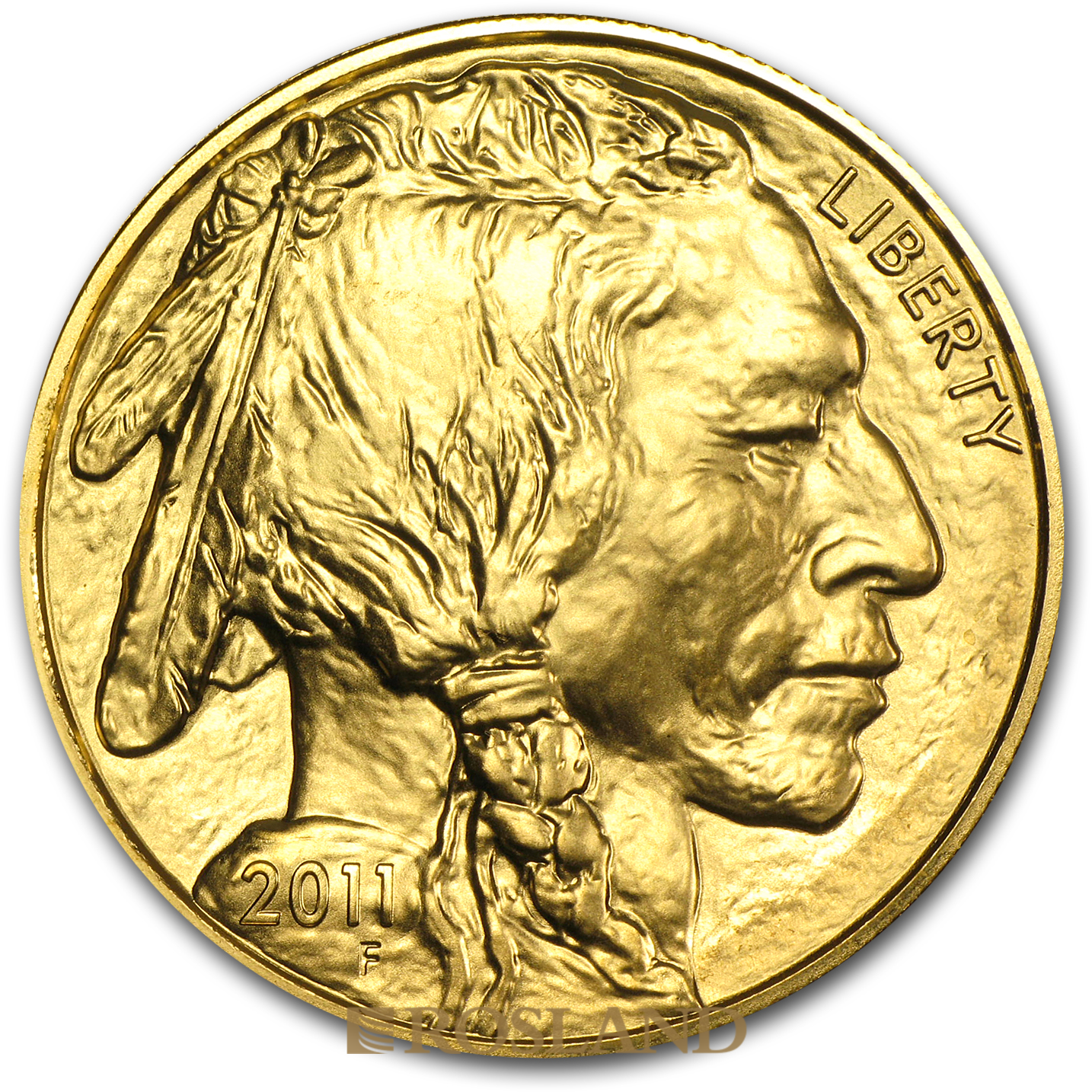 1 Unze Goldmünze American Buffalo 2011