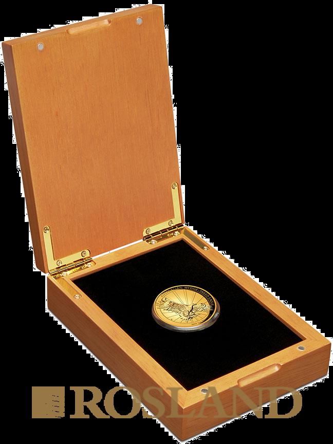 1 Unze Goldmünze Wedge Tailed Eagle 2019 PP (HR, Box, Zertifikat)