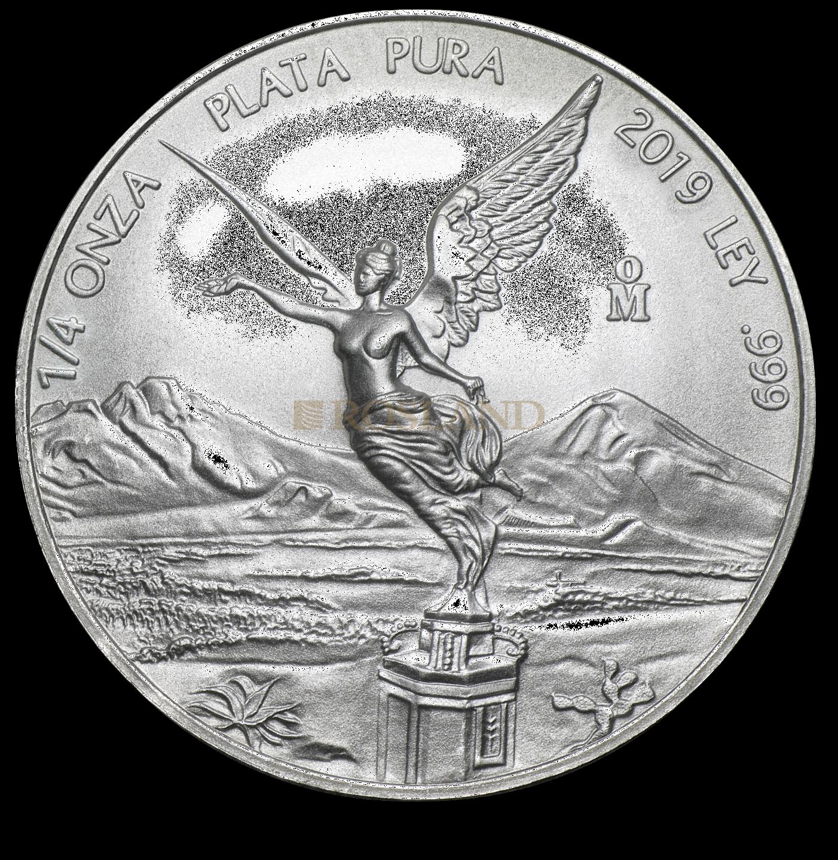1/4 Unze Silbermünze Mexican Libertad 2019