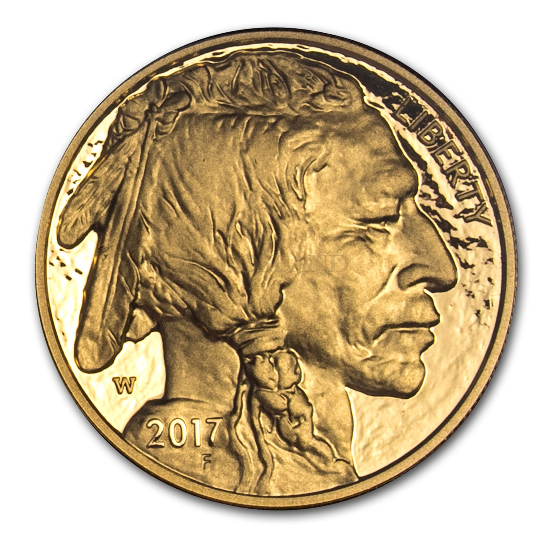 1 Unze Gold American Buffalo 2017 PP PCGS PR-70 DCAM