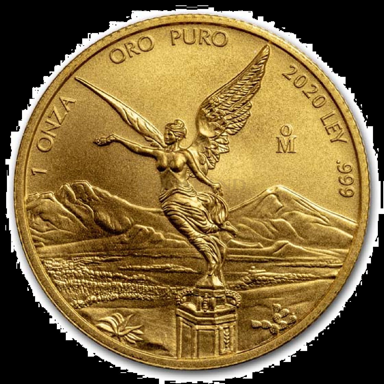 1 Unze Goldmünze Mexican Libertad 2020