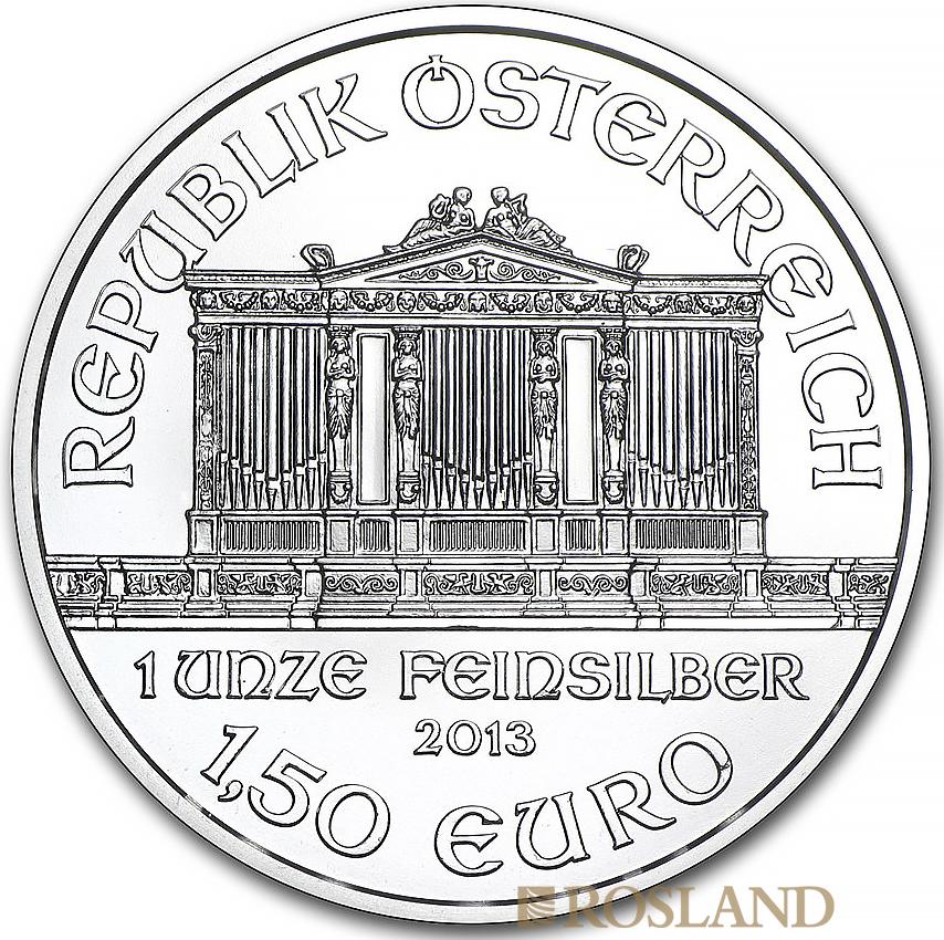 1 Unze Silbermünze Wiener Philharmoniker 2013