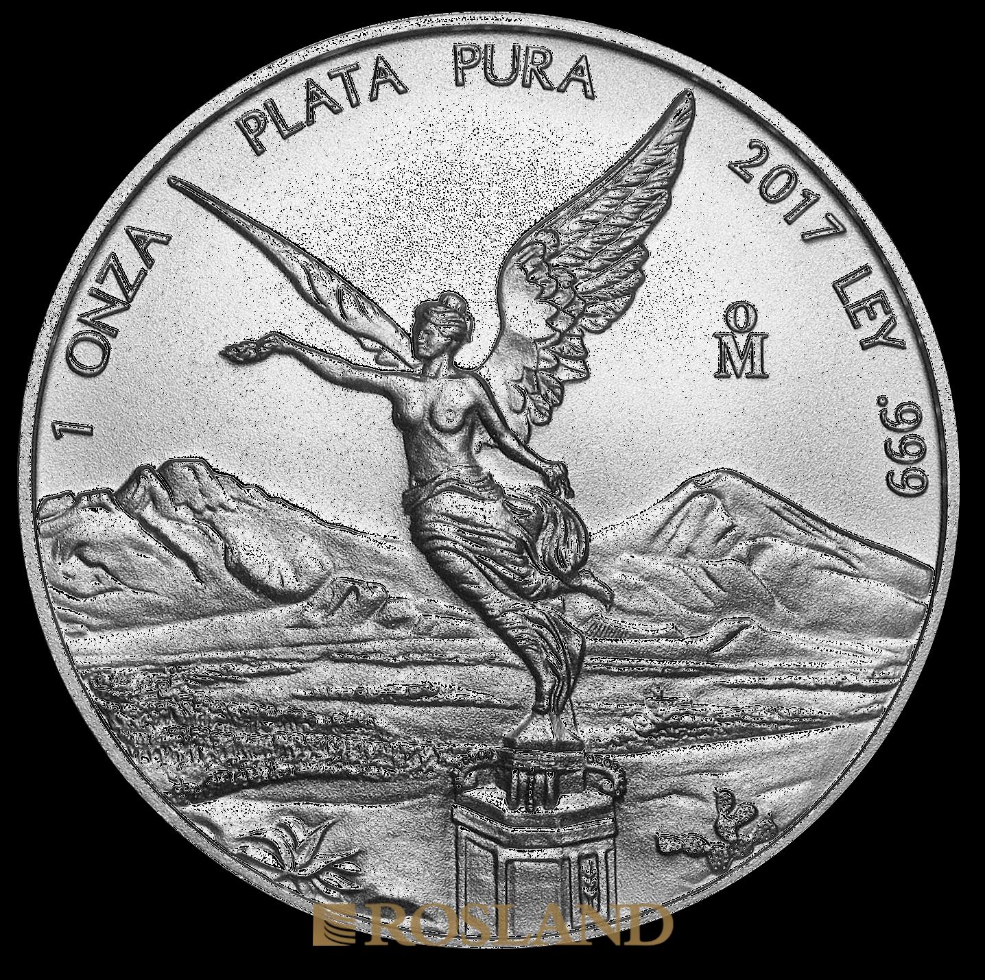 1 Unze Silbermünze Mexican Libertad 2017