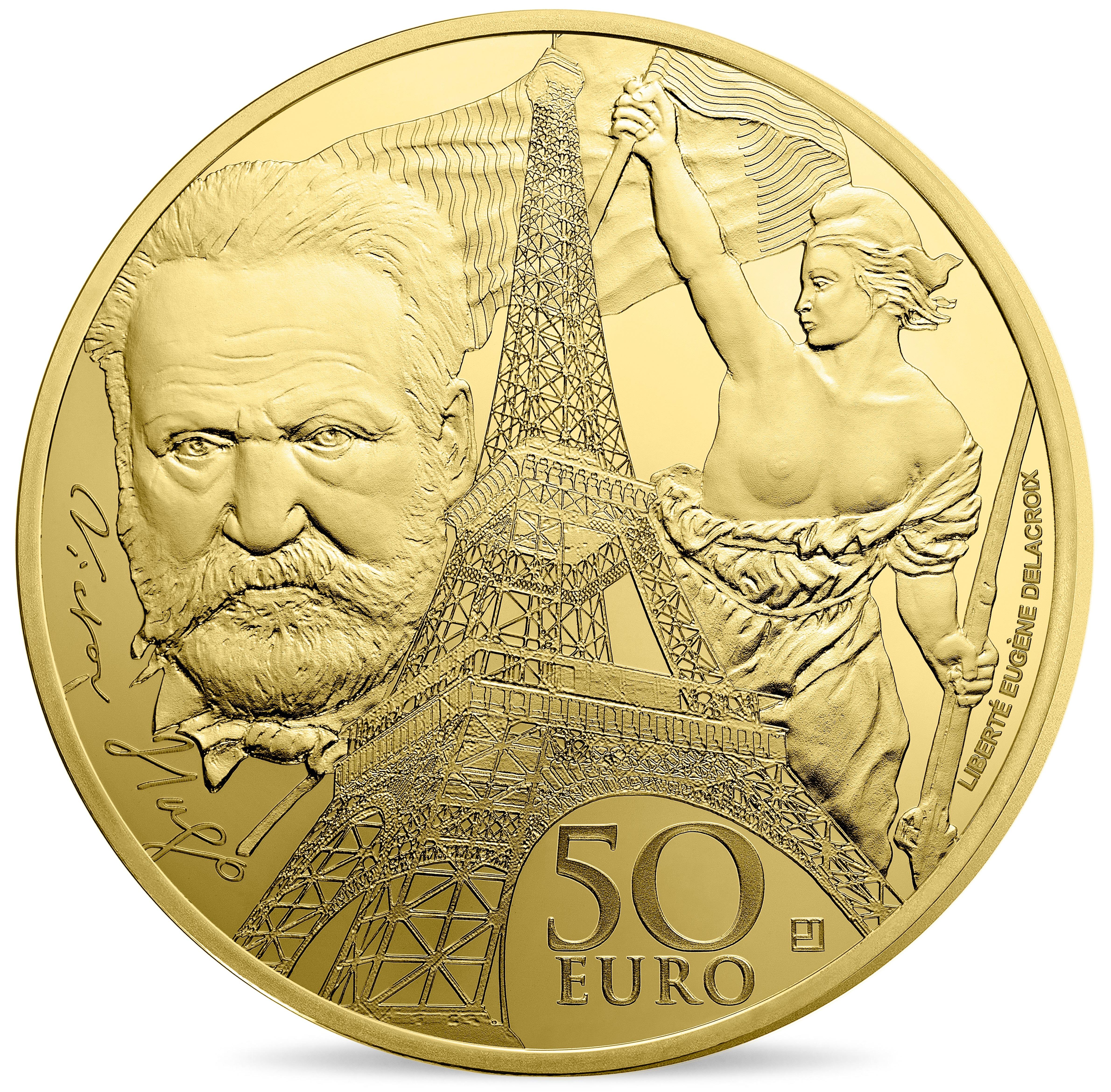 1/4 Unze Goldmünze Europa der Moderne 2017 50€
