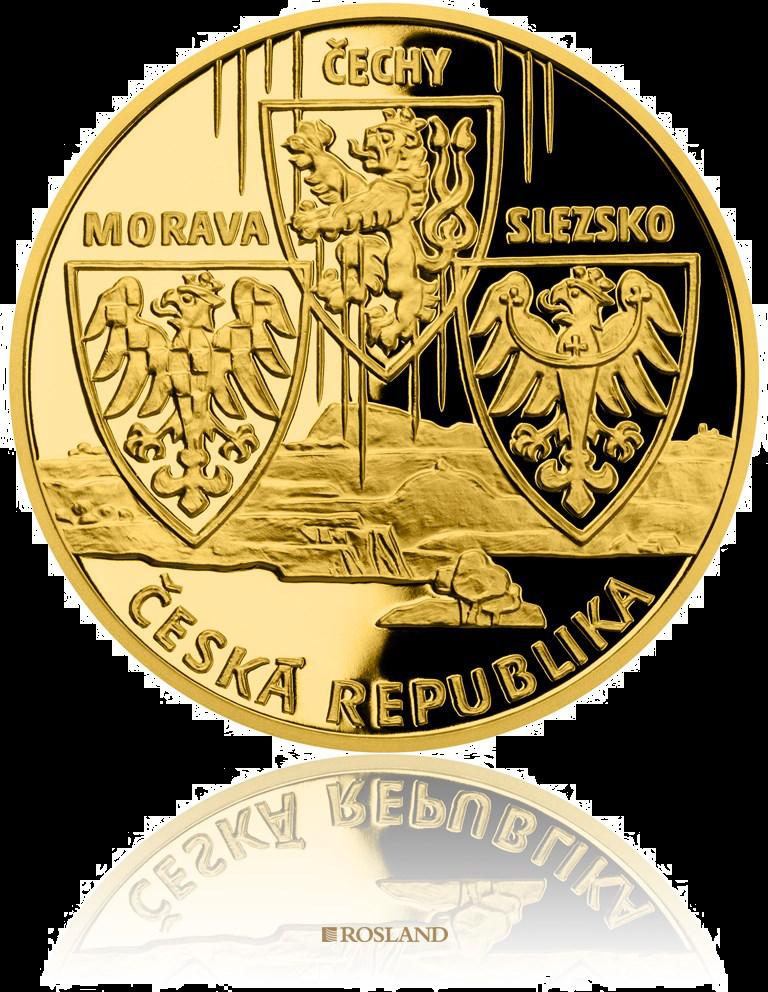 10 Dukaten Goldmedaille Czech Republic 2020 PP (Box, Zertifikat)