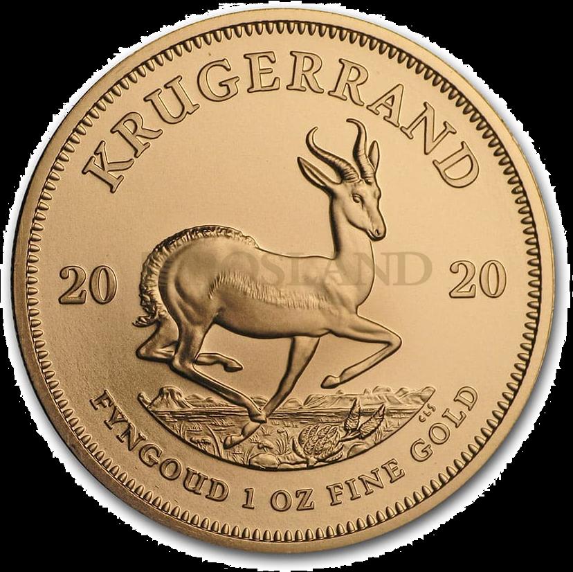 1 Unze Goldmünze Krügerrand 2020
